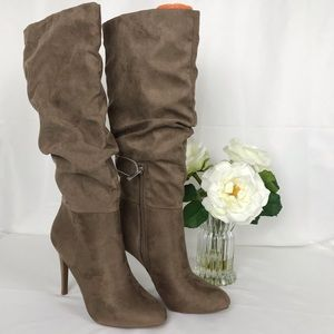 Jessica Simpson Slouched Heel Boot